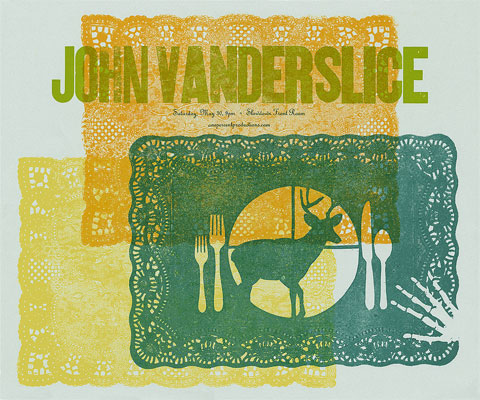 John Vanderslice Poster