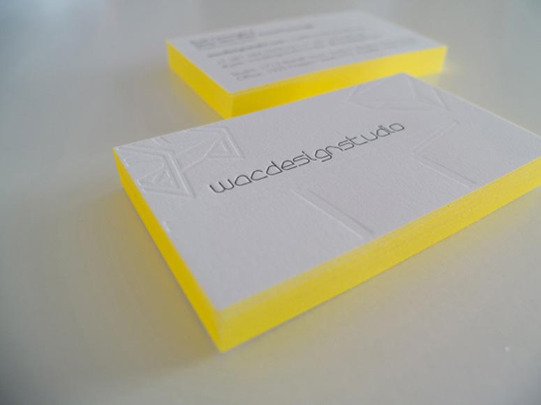 Wac Design Studio Business Card