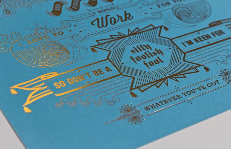 Typographic Wank