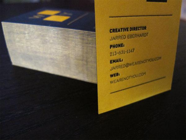 WeAreNotYou Business Card