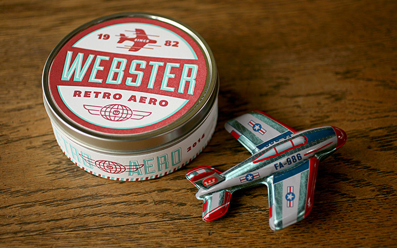 Webster Retro Aero Holiday Gift