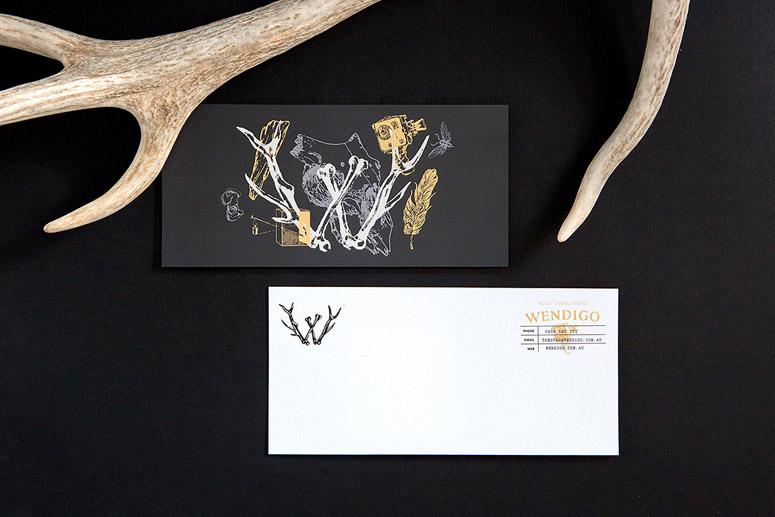 Wendigo Business Cards & Stationary