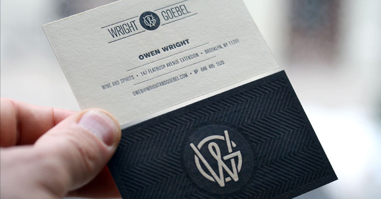 Wright & Goebel Business Cards