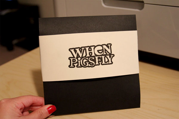 When Pigs Fly CD Package