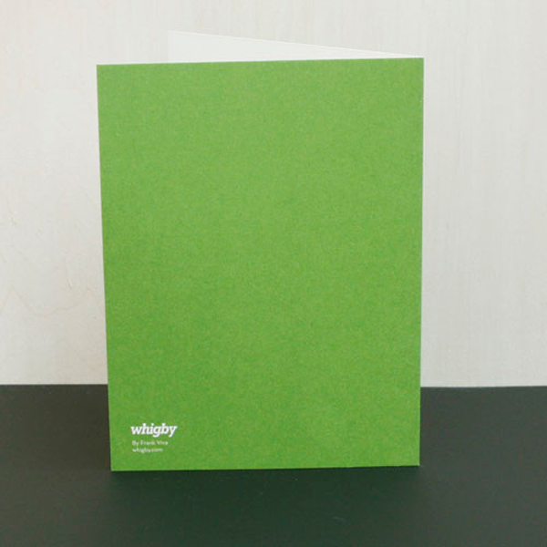 Whigby Holiday Cards