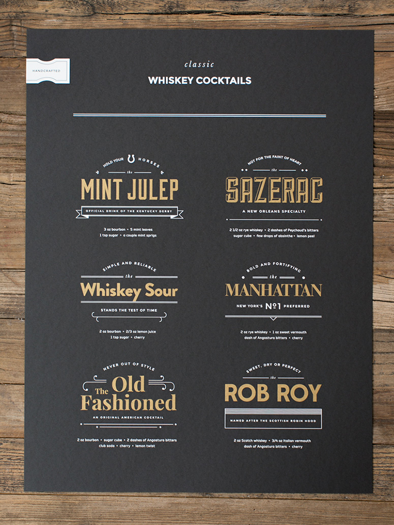 Whiskey & Art Poster Series