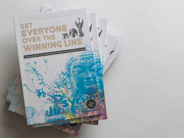 Get Everyone Over The Winning Line - Illustrated Handbook