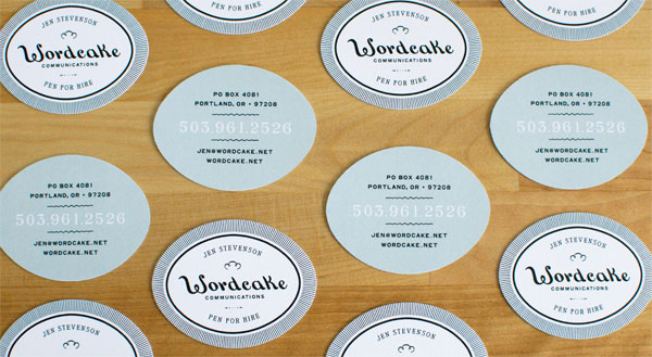 Wordcake Communications Business Card