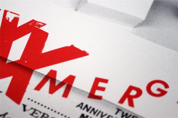 XX Merge Festival Poster