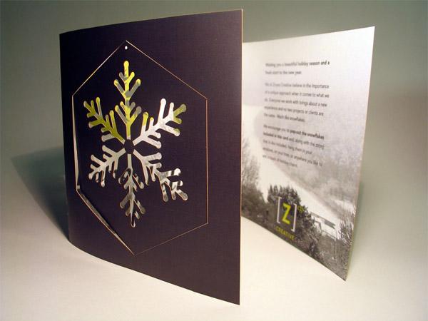 Zoyes Creative Holiday Card