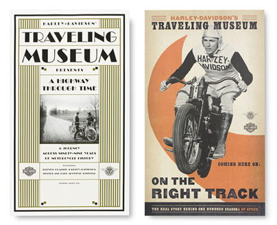 Harley-Davidson Traveling Museum Posters