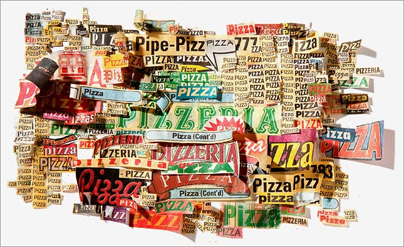Pizza Illustration for Wired