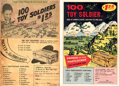 Vintage Ads for Toy Soldiers