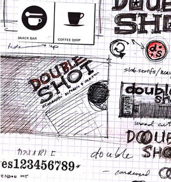 D&P Double Shot Sketch