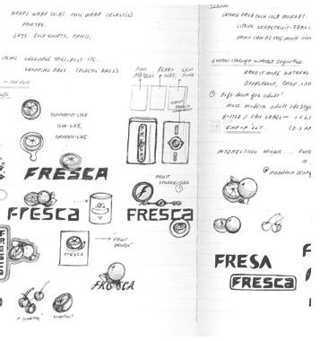 D&P Fresca Sketch