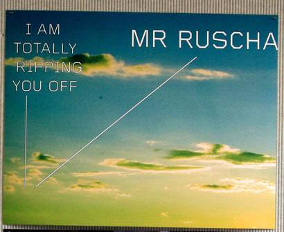 Ruscha Rip-off