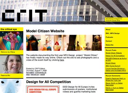 Crit Blog