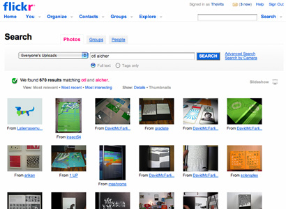Flickr Results for Otl Aicher