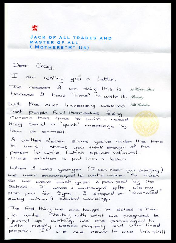 Speak Up Archive Youve Got Letter