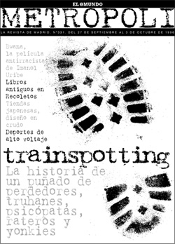 Metropoli, Trainspotting cover