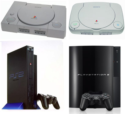 The Evolution of the Playstation