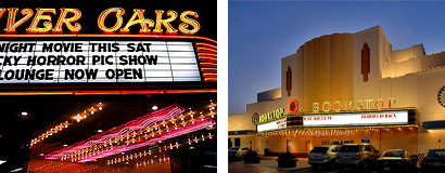 River Oaks and Alabama Theaters