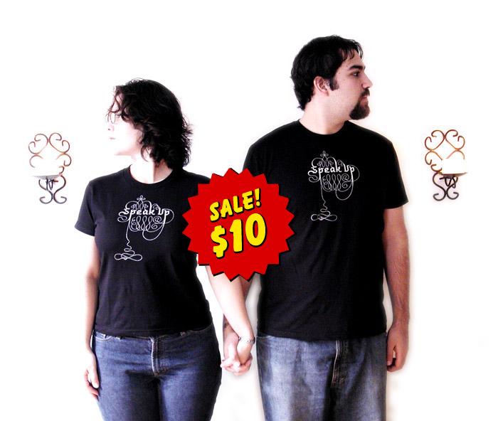 speakup tshirt. Black Bedroom Furniture Sets. Home Design Ideas