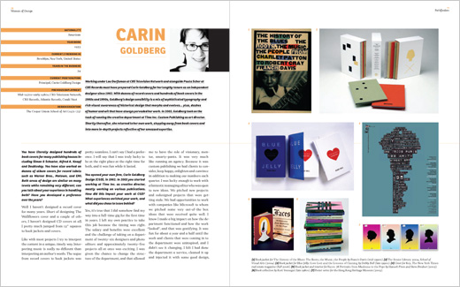 Sample, Carin Goldberg